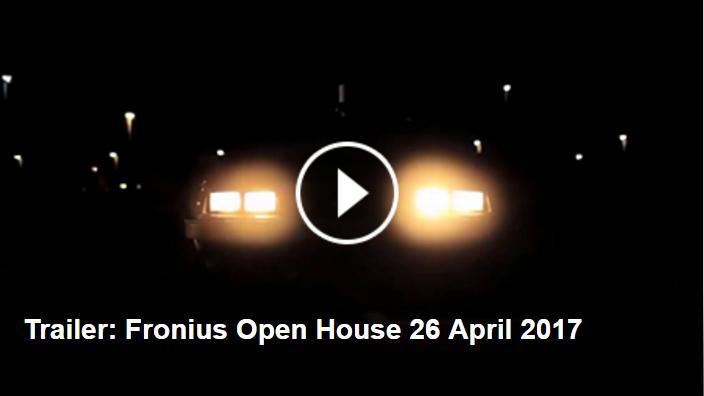 Fronius Open House Trailer